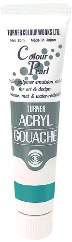 20ml Turner Acryl Gouache Farbe Pearl Türkis 416