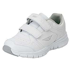 Red Tape Kids Unisex White School Shoes