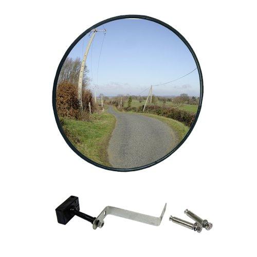 VISIO Miroir Sicherheitsspiegel, Glas, 1 kg, Durchmesser 33 cm, klar
