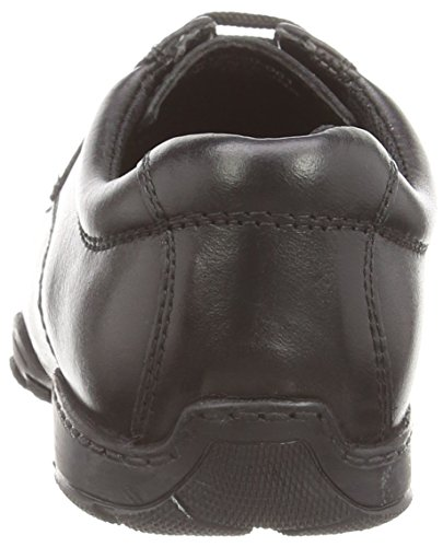 Hush Puppies Vincente, Oxford garçon Noir (Black)