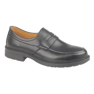 Amblers Steel FS46 Safety Slip-on / Mens Shoes / Safety Shoes (9 UK) (Black)