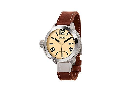 Reloj Automático U-Boat Classico, Acero Inoxidable 316L, Tungsteno, 45mm, 8093