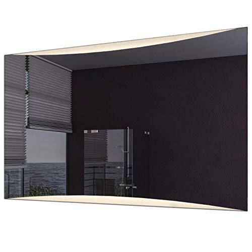 Schreiber Design® LED Badspiegel mit Beleuchtung Voyage 3000K Warmweiß 100 cm Breit x 80 cm Hoch Licht Oben & unten