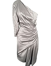 00f90d1d9b Karen Millen Limited Edition Pewter One Shoulder Dress