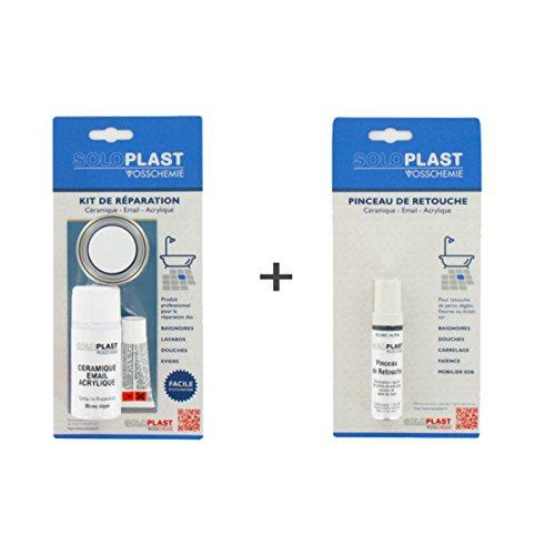 Soloplast Pack Enamel Ceramic Bathroom Repair Kit