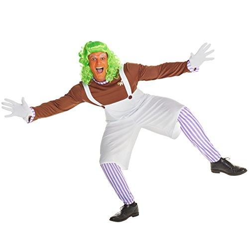 Imagen de musical enano trabajador de chocolate disfraz carnevale alternativa