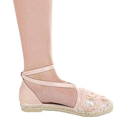 Ital-Design - Scarpe chiuse Donna rosa antico