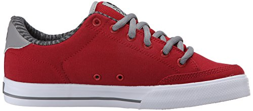 C1RCA  Lopez  50, Sneakers basses mixte adulte Pompeian Red/Black