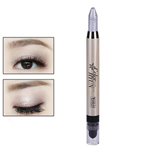 Frcolor Augenbraue Glitzer Schatten Bleistift Eye Liner Bleistift Stift große Smokey Cream Eyeliner...