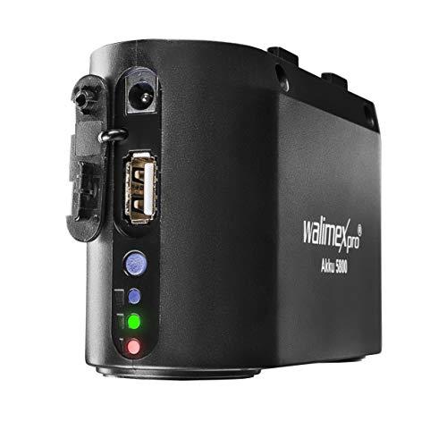 Flash-power Pack (Walimex Pro Akku 5800 mAh für Power Porta und Light Shooter - Li-Ionen Powerblock externer Akku 5800 mAh 11,1V, Akku Pack für Blitze Speedlite von Nikon, Canon, Yongnuo, Metz)