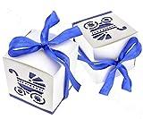 20 scatole per caramelle doccia per neonati, bomboniere, decorazioni per feste.
