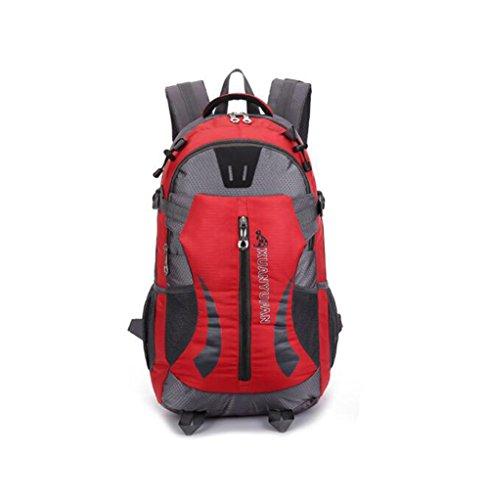 Wmshpeds Grande capacità 40L outdoor coppia pacchetto impermeabile zaino borsa di arrampicata borsa da viaggio A