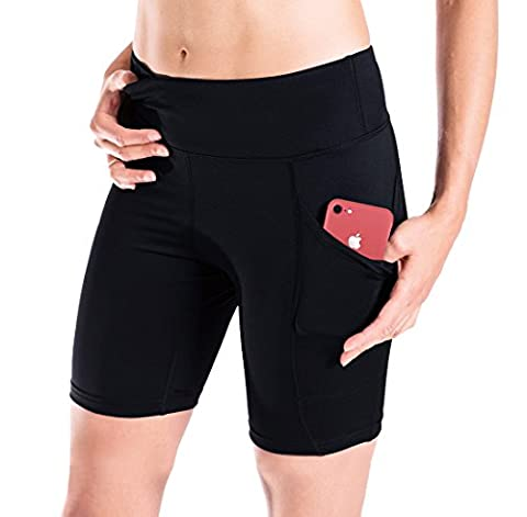 Yogipace Women's Sun Protection No More Thigh Chafing Side Pocket 7