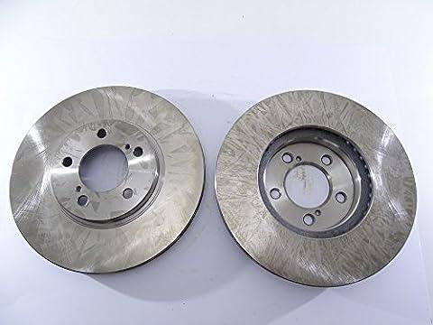 2x Bremsscheibe Rotor vorne 54030als Tec für Ford Taurus Thunderbird