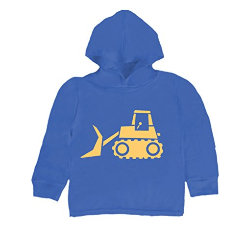 Inda-Bayi Baby-Toddler-Kids Cotton Hoodie T Shirt - bulldozer