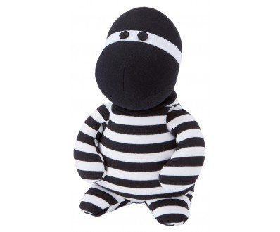 Warmies Pop Hoodlum with Lavender Scent and Removable Filling Black / White by Greenlife Value GmbH