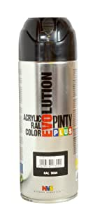 Pinty 603 Bombe 400 ml Noir RAL 9004 Brillant