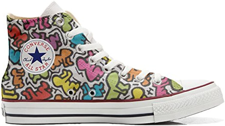 mys Converse All Star Hi Customized Personalisiert Schuhe Unisex (Gedruckte Schuhe) Leben stilizzato
