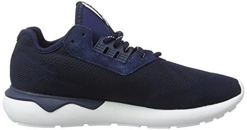 adidas Tubular Runner Weave, Baskets homme Bleu (Collegiate Navy/Collegiate Navy/White)