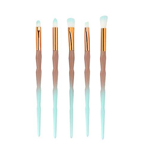 5 PCS Make-up-Pinsel , Make-up-Pinsel-Set Werkzeuge Make-up-Toilettenartikel-Set Woll-Make-up-Pinsel-Set