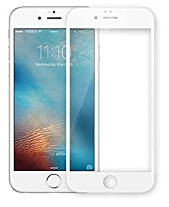 Plus 3D Curved Edge CP+ MAX Full coverage Anti-explosion Tempered Glass Screen Protector for Apple iPhone 7 Plus - White