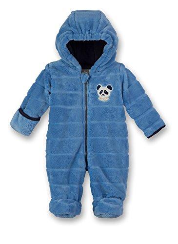 Sanetta Baby-Jungen Outdooroverall Schneeanzug, Blau (Blue Sea 50206.0), 62