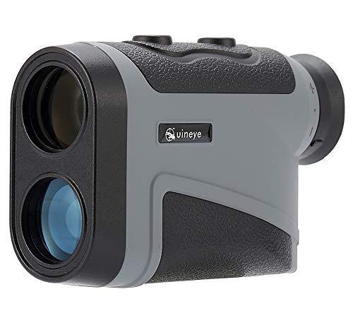 Golf telemetro-Range: 5-1800, 1200meters, precisione +/-0.3meters, telemetro laser con altezza, angolo, perfetto per la caccia di misurazione della distanza orizzontale, Golf, ingegneria indagine, 1800M Grey