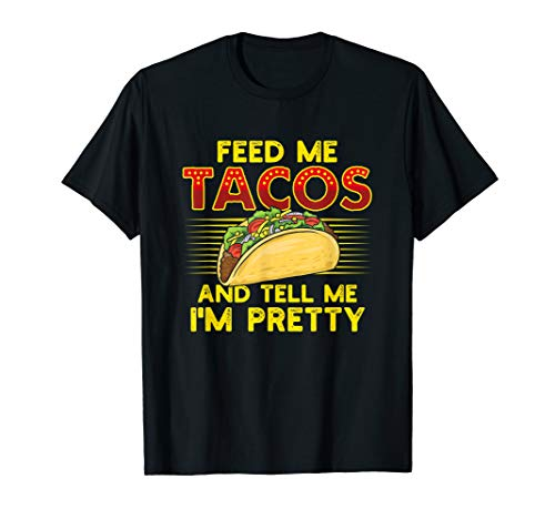 Lustiger Taco Mexiko Spruch - Geschenk für Feinschmecker  T-Shirt