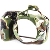 EasyCover Silicone Protective Camera Cover/Case for Nikon D5600 Camouflage