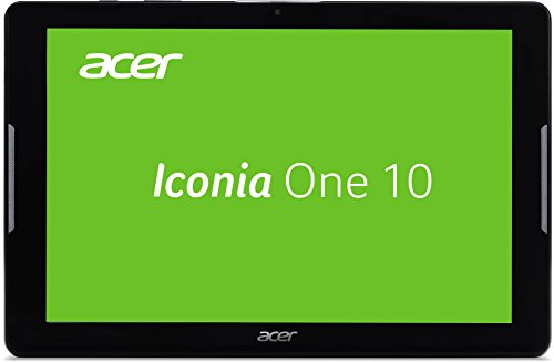 Acer Iconia One 10 (B3-A30) 25,65 cm (10,1 Zoll) HD Tablet-PC (MTK MT8163 Quad-Core, 1,3 GHz, 1 GB RAM, 16 GB eMMC, Android 6.0 Marshmallow) schwarz