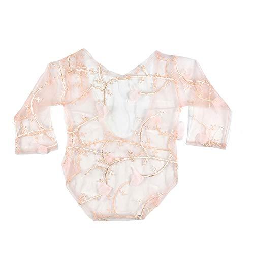 ie Kostüm,Neugeborene Wrap Photo Prop Spitze Kostüm Newborn Decke Fotografiefür Mädchen Babyfotografie EINWEG Verpackung ()