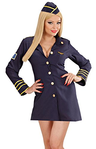 Widmann 44564 Erwachsenenkostüm Stewardess, 48