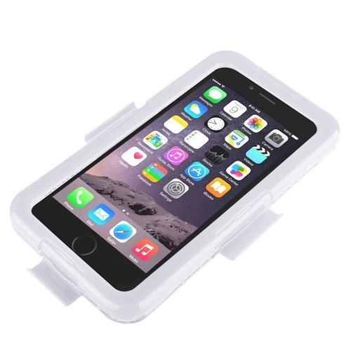 "ChannelExpert Wasserdicht Cover Waterproof Case Outdoor Schutz Hülle Handy Wasserfest Tasche für Apple iPhone 6 Plus 5.5"" blau weiß"