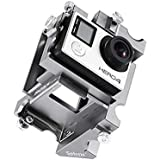 HITSAN INCORPORATION 360 Degree Panoramic Aluminium Holder For GoPro Hero 3+/4 Sj5000 Yi Spherical Sport Camera Accessories Action Video Mount