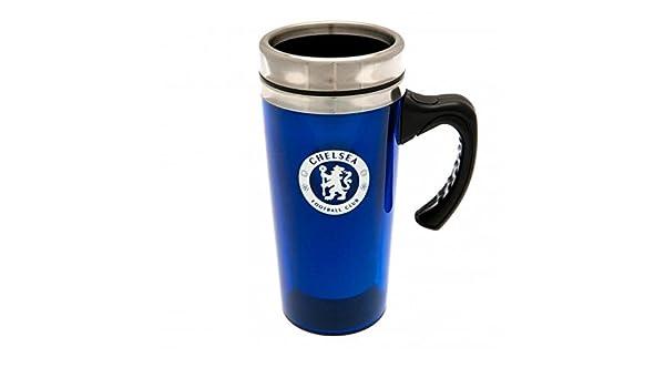 Chelsea FC Offizielle Fu/ßball Geschenk Aluminium Reise Tasse/ /A Great Weihnachten//Geburtstag Geschenk Idee f/ür M/änner und Jungen