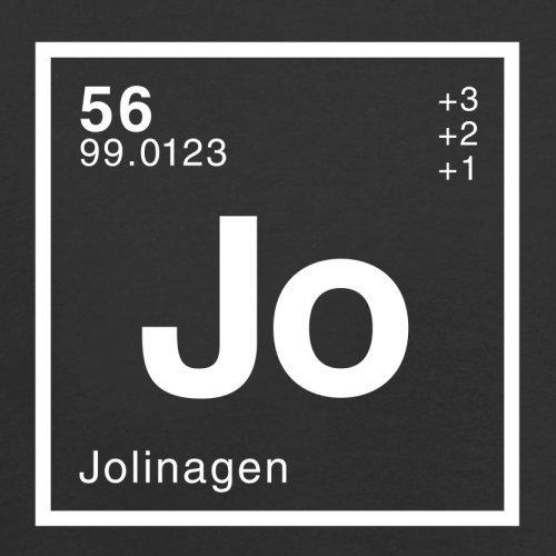 Jolina Periodensystem - Herren T-Shirt - 13 Farben Schwarz