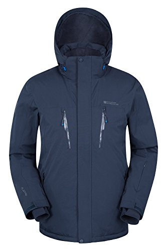 Mountain Warehouse Galactic Extreme Mens Ski Jacket Azul marino M