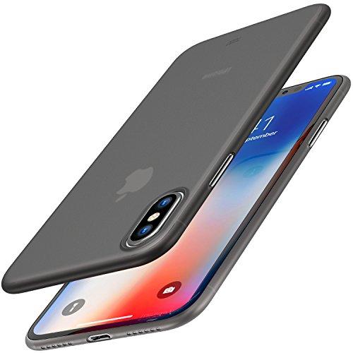 Funda iPhone X, TOZO PP[0.35mm] Ultra Delgada [0.35 mm] Más Fina del...