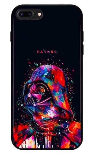 Art Design Hülle für iPhone 7+ Plus/iPhone 8+ Plus Star Wars Dark Vador Father Soft Silikon
