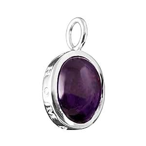 Thomas sabo pE 426–051–13 special addition pendentif ovale en argent avec anneau violet