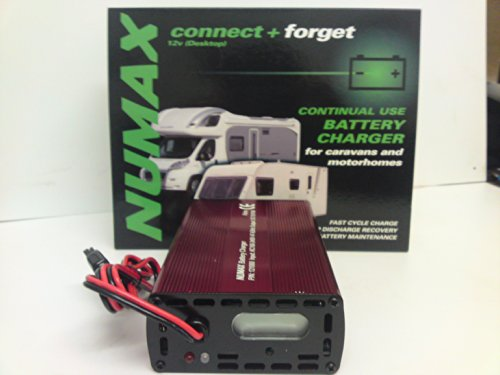 121000LEISURE – Numax 'Connect & Forget' 12V 10A Leisure Battery Charger