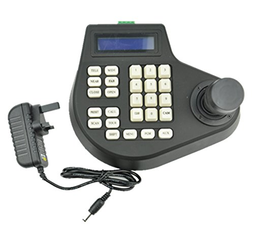 ip-speed-dome-3d-joystick-keyboard-controller-lcd-display-for-ptz-speed-dome-camera