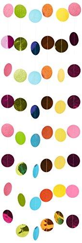 Amscan International 672423-902,13m Mehrfarbige Glitzer String Dekoration (Award Dress Up-spiele)