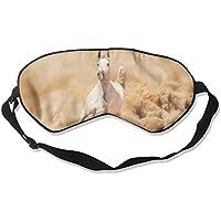 Eye Mask Eyeshade Horse Running Dust Sleeping Mask Blindfold Eyepatch Adjustable Head Strap preisvergleich bei billige-tabletten.eu