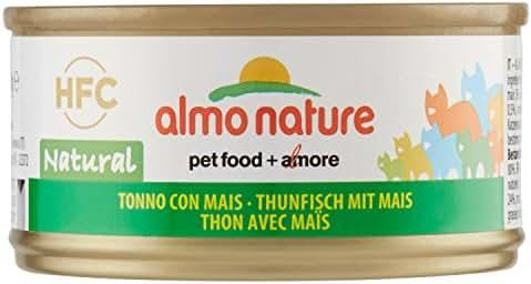 Almo Nature : Boite Thon Avec Mais 70 G