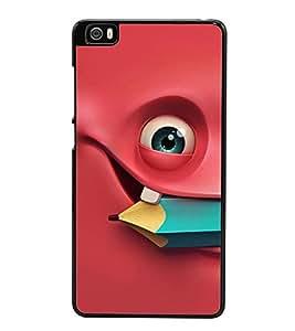 Fuson Premium 2D Back Case Cover Smily With pink Background Degined For Xiaomi Redmi Mi5::Xiaomi Mi 5