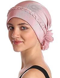 Tressé avec des perles Coiffe pour Perte de Cheveux, Cancer, Chimio