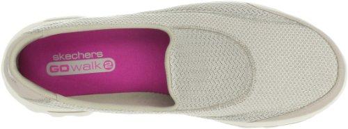 Skechers Gowalk 2, Sandales de sport Femme Beige