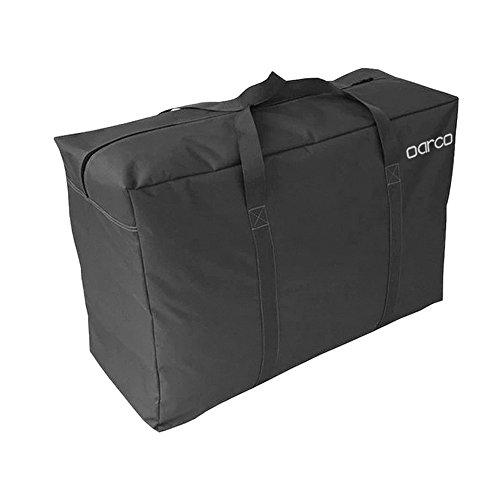 Oarco 145L gran Bolsa de almacenamiento, bolsa de ropa de tela, de espesor ultra tamaño almacenaje bajo la cama de almacenamiento, a prueba de humedad&impermeable - Con Garantía de Satisfacción