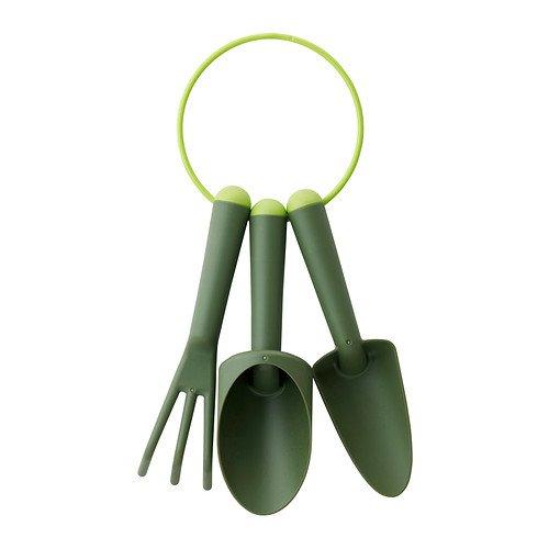 gräsmarö 3pièces-jardinage Verde, il giardinaggio strumenti sono in molto resistente e durevole in plastica rinforzata a la fibra di vetro. - Strumenti di giardinaggio